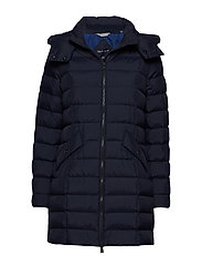 D2. CLASSIC DOWN LONG JACKET - EVENING BLUE