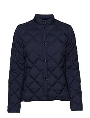 D1. LIGHT DOWN QUILTED JACKET - MARINE