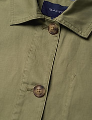 Gant - D2. SHIRT JACKET - vestes legères - oil green - 2