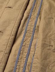 Gant - D2. BELTED FIELD JACKET - vestes legères - dark khaki - 5