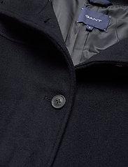 GANT - D1. WOOL BLEND CROPPED JACKET - wool jackets - evening blue - 3