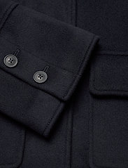 GANT - D1. WOOL BLEND CROPPED JACKET - wool jackets - evening blue - 4