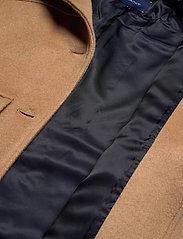 GANT - D1. WOOL BLEND CROPPED JACKET - wool jackets - warm khaki - 5