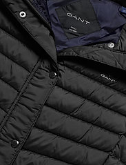 GANT - LIGHT DOWN GILET - puffer vests - black - 4