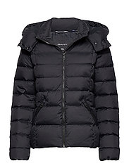 D2. CLASSIC DOWN JACKET - BLACK