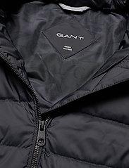 GANT - D2. CLASSIC DOWN JACKET - dun- & vadderade jackor - black - 5