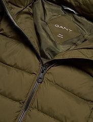 GANT - D2. CLASSIC DOWN LONG JACKET - down- & padded jackets - dark cactus - 5