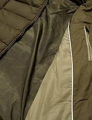 GANT - D2. CLASSIC DOWN LONG JACKET - down- & padded jackets - dark cactus - 8
