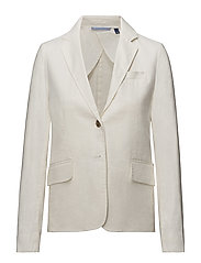 OP1. HIGH SUMMER CLUB BLAZER - EGGSHELL