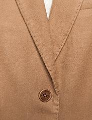 Gant - D2. MOLESKIN SLIM BLAZER - bleiserit - warm khaki - 2