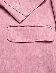 Gant - D2. STRETCH LINEN REGULAR BLAZER - vestes tailleur - rapture rose - 3