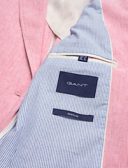Gant - D2. STRETCH LINEN REGULAR BLAZER - vestes tailleur - rapture rose - 4