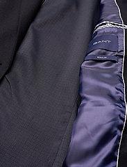 GANT - D1. FLANNEL REGULAR BLAZER - oversized blazers - evening blue - 4