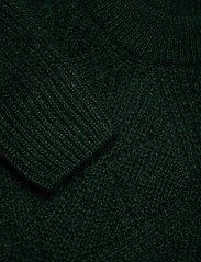 GANT - D2. WOOL MOHAIR POINTELLE CREW - jumpers - tartan green - 2