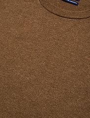 GANT - SUPERFINE LAMBSWOOL CREW - jumpers - warm khaki - 2