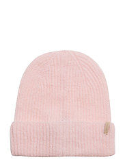 O1. RIB KNIT HAT - CALIFORNIA PINK
