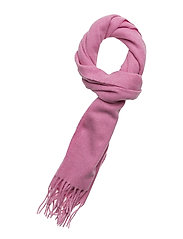 SOLID LAMBSWOOL WOVEN SCARF - PINK EMBRACE MEL