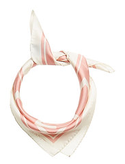 O1. G SILK SCARF - SUMMER ROSE