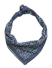 O2. GANT GRAPHIC BANDANA - PERSIAN BLUE