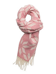 OP1. WINTER STAR LAMBSWOOL SCARF - BRANDY APRICOT