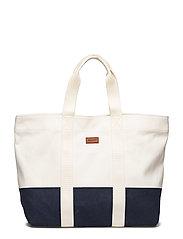 O2. BEACH BAG - OFFWHITE