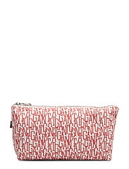 O2. GANT GRAPHIC POUCH - WATERMELON RED