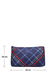 GANT - D1. SIGNATURE WEAVE WASH BAG - cosmetic bags - crisp blue - 5