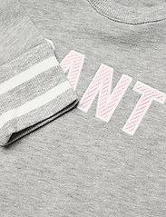 GANT - D1. GANT VARSITY SWEAT COVERALL - langärmelig - light grey melange - 2