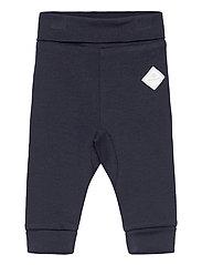 LOCK-UP ORGANIC COTTON PANTS - EVENING BLUE
