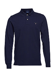 THE ORIGINAL PIQUE  LS RUGGER - EVENING BLUE