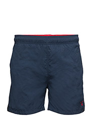 BASIC SWIM SHORTS CLASSIC FIT - NAVY