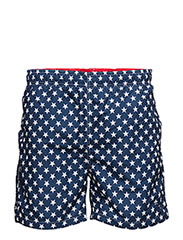 STARS SWIM SHORTS C.F. - NAVY
