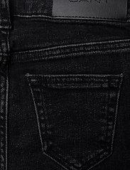 GANT - GANT SKINNY JEANS - jeans - black raw - 4