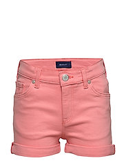 D2. TWILL SHORTS - STRAWBERRY PINK