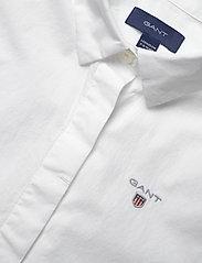 GANT - D1. POPLIN SHIRT - shirts - white - 2