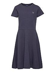 D1. ORIGINAL JERSEY DRESS - EVENING BLUE