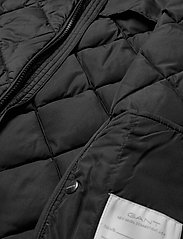 GANT - D1. THE LT WEIGHT DIAMOND PUFFER - puffer & padded - black - 7