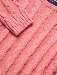 GANT - COTTON CABLE CREW - strickmode - strawberry pink - 2