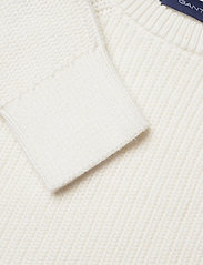 GANT - D1. LOGO RAGLAN - sweatshirts - eggshell - 2