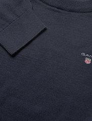 GANT - D1. BASIC C-NECK - sweatshirts - evening blue - 2