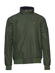 O1. THE HAMPSHIRE JACKET - MOSS GREEN
