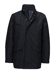 THE GANT DOUBLE JACKET - NAVY