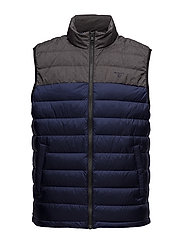 O1. THE METRO DOWN VEST - CLASSIC BLUE