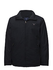 O1. THE MIDLENGTH JACKET - NAVY