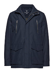 O1. THE AVENUE JACKET - NAVY