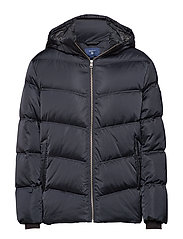 O2. THE ALTA DOWN JACKET - BLACK