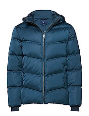 O2. THE ALTA DOWN JACKET - BLUE EMERALD