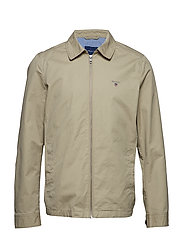 O1. THE GANT WINDCHEATER - DARK KHAKI