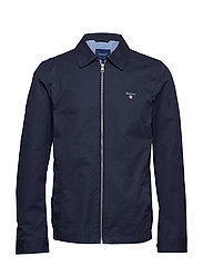 O1. THE GANT WINDCHEATER - EVENING BLUE