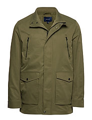 O1. THE COMFORT AVENUE JACKET - DEEP LICHEN GREEN
